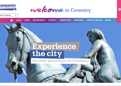 Coventry BID – New Directory Website