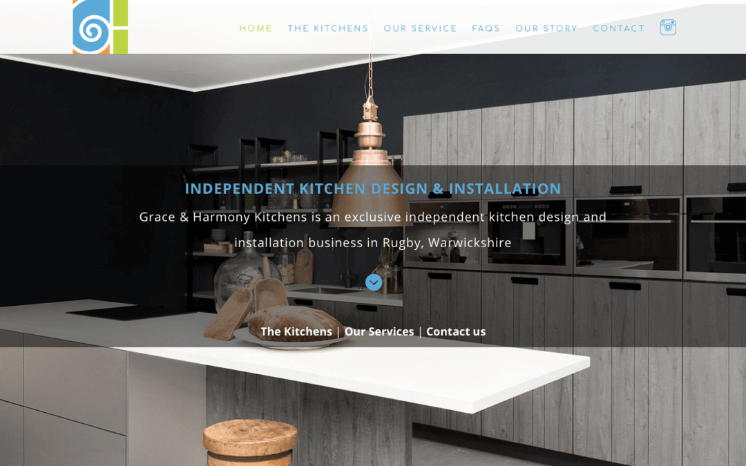 Grace & Harmony – New Website