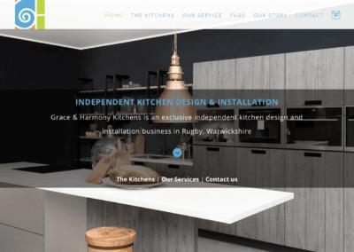 Grace & Harmony – New Website