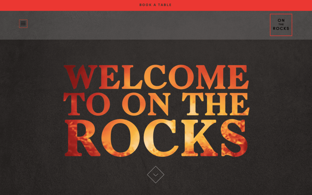 On The Rocks Restaurant – Website