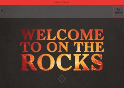 On The Rocks Restaurant – Website