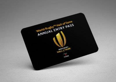 World Rugby Hall of Fame Passes