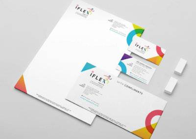 IFLEX Health Branding & Stationery
