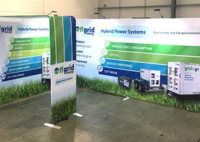 Off Grid Energy Exhibition Stand