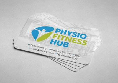 Physio Fitness Hub Logo Design & Business Cards