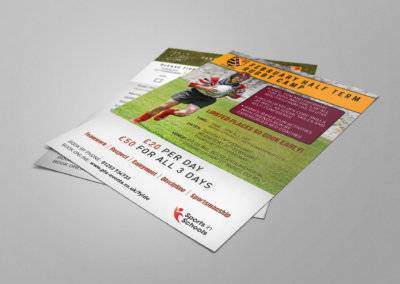 Sports in Schools Rugby Club Leaflets