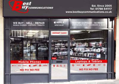 Best Buy Communications Shop Frontage Design