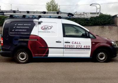 Warwickshire Digital Van Graphics Design