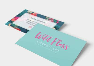 Wild Floss Logo Design & Business Cards