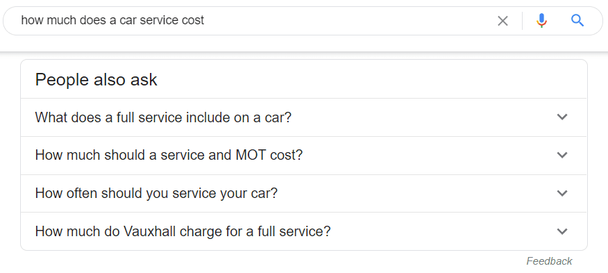 Google Voice Search Questions & Answers