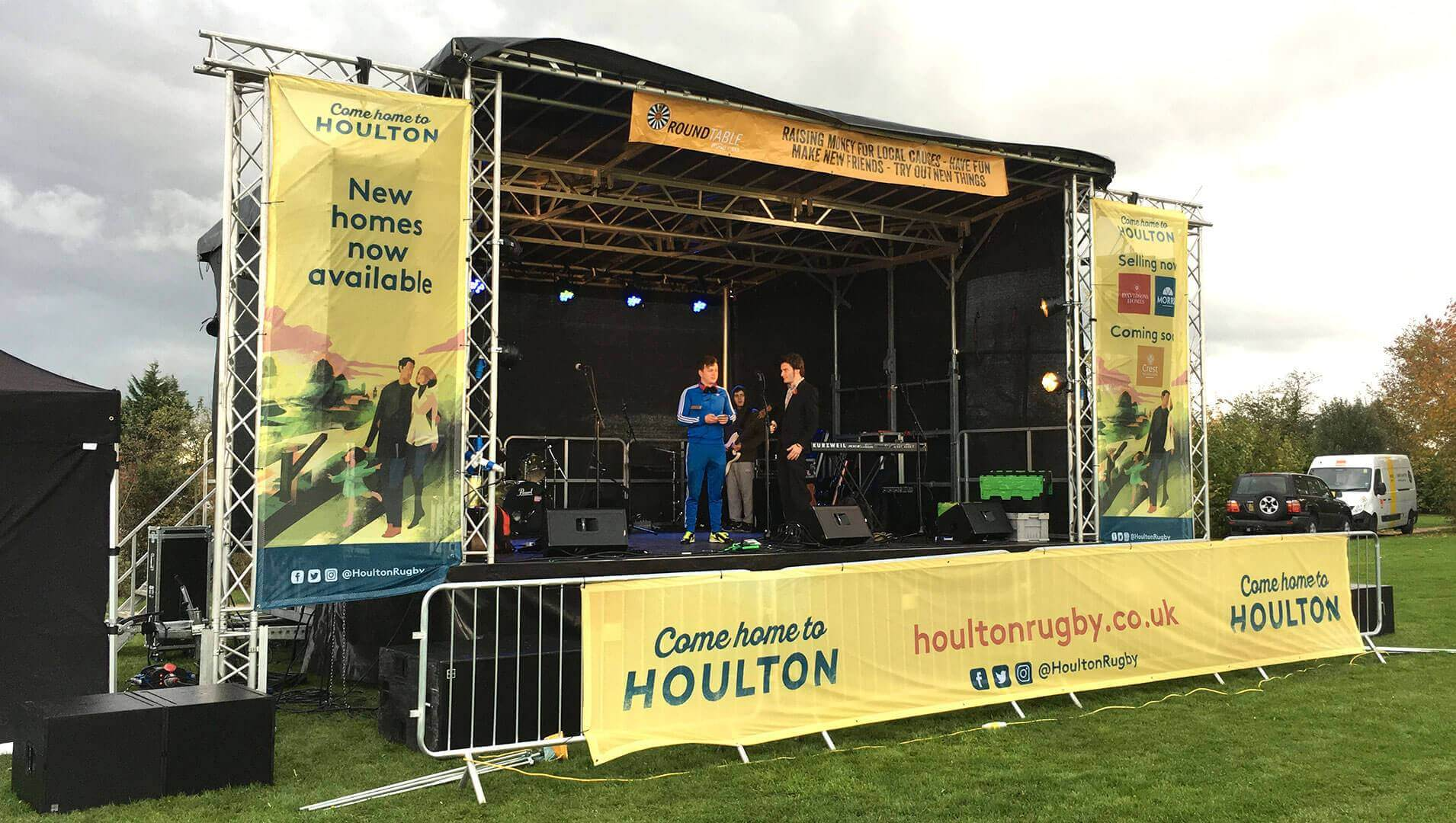 Outdoor event at Houlton