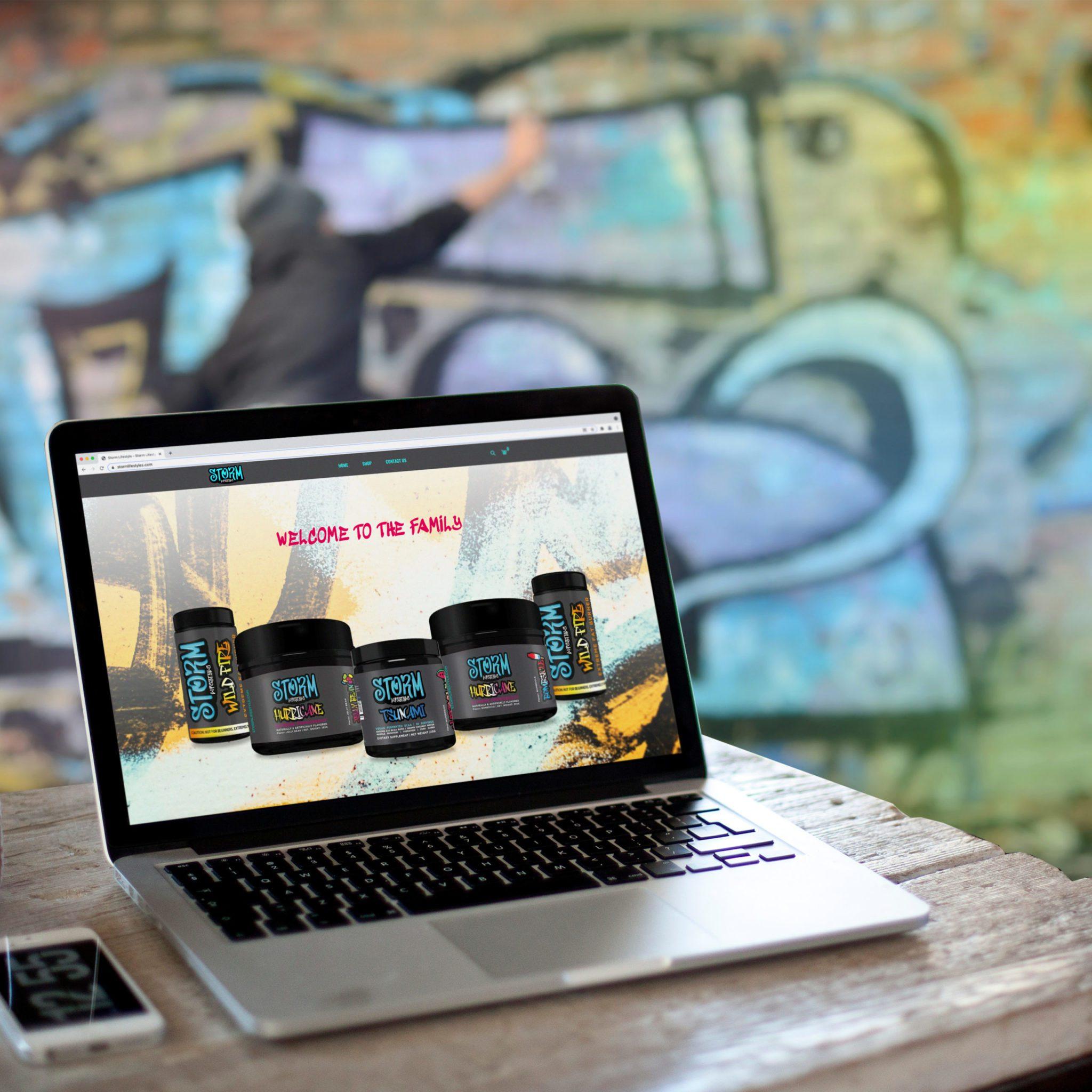 Storm Lifestyle Shopify Website