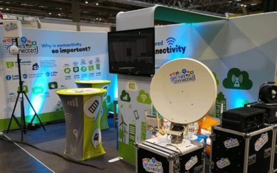 Make sure your exhibition display is talk of the show