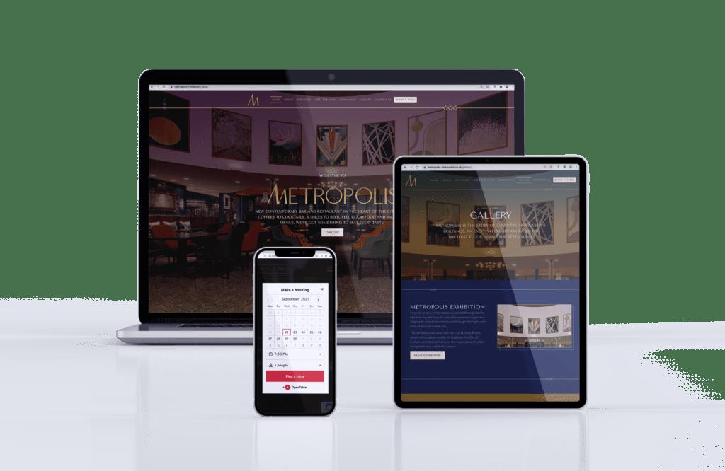 Dynamic Start-up Website