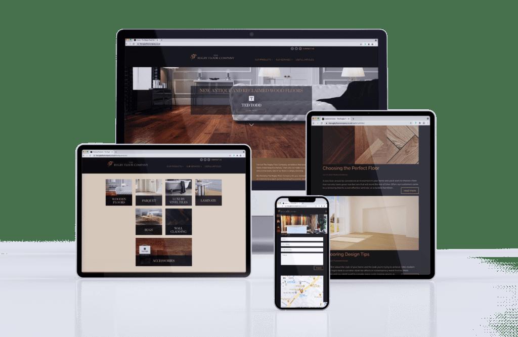 Multi-page Start-up Website