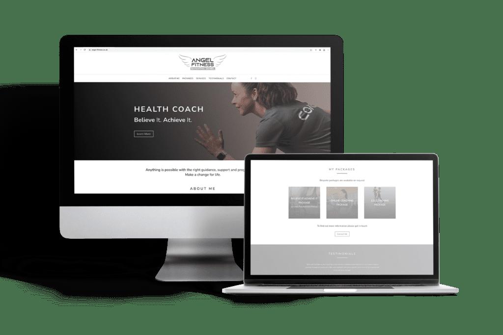 Single Page Start-up Website